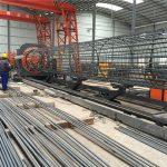 ម៉ាស៊ីនភ្នាល់សំណាញ់លួសសំណាញ់ដែលមានតម្លៃថ្លៃបំផុត, ការពង្រឹងសរសៃ welder ធ្មេញតាមទ្រុង 500-2000mm