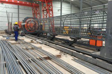 ម៉ាស៊ីនត្រាក់ទ័រលួសសំណាញ់ដែលល្អបំផុត, ការពង្រឹងសរសៃ welder ធ្មេញទ្រុង 500-2000mm